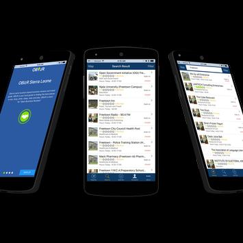 OBizR apk screenshot