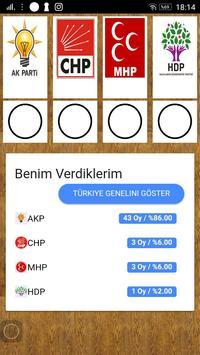 Oy Ver ! - Hayali Oylama apk screenshot