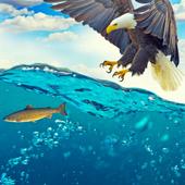 🦅 Eagle live wallpaper (animal, ocean) icon