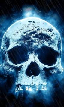 Skull live wallpaper screenshot 2