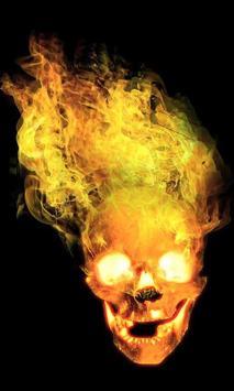 Skull live wallpaper screenshot 1