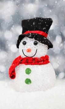 Snowman live wallpaper screenshot 1