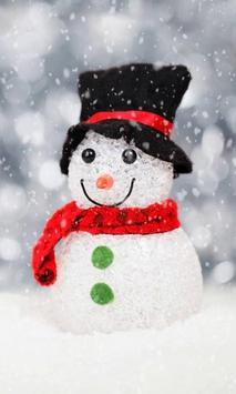 Snowman live wallpaper screenshot 2
