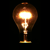 Electric bulb live wallpaper icon