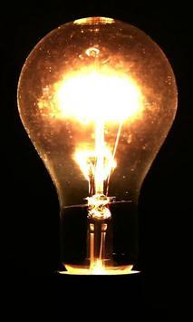 Electric bulb live wallpaper poster