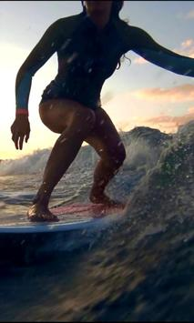 Surfing live wallpaper screenshot 1