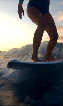 Surfing live wallpaper screenshot 2