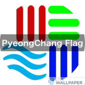PyeongChang flag live wallpaper icon