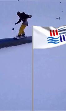 PyeongChang flag live wallpaper screenshot 2