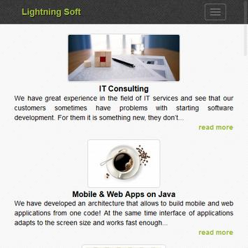 Lightning Soft apk screenshot