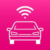 Chytré auto icon