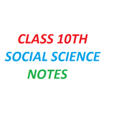 CLASS 10TH SOCIAL SCIENCE NOTES AND SOLUTIONS icon
