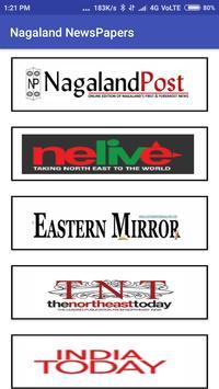 Nagaland Newspapers All Nagaland Newspapers screenshot 1