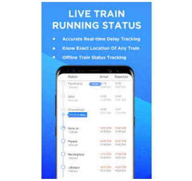 Live Train Status and Spot Booking poster