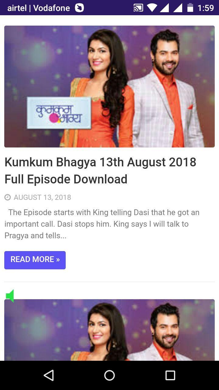 KumkumBhagya Full Episode for Android - APK Download