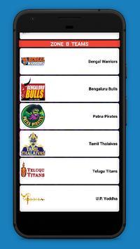 Kabaddi Live Score 2018- schedule & Teams screenshot 7