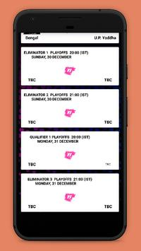 Kabaddi Live Score 2018- schedule & Teams screenshot 6