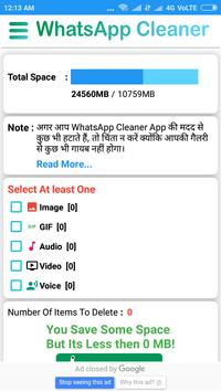 Cleaner for whatsapp pro screenshot 3