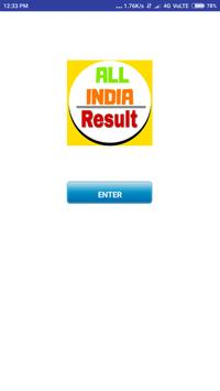 All India Results- State Board Results poster