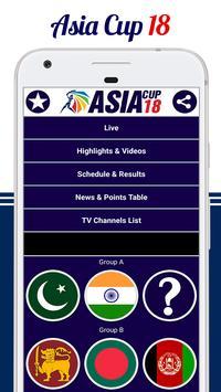Asia Cup 2018 screenshot 1