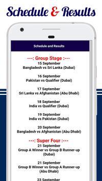 Asia Cup 2018 screenshot 4