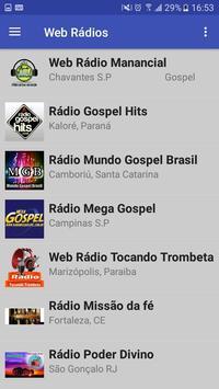 Web Rádios Top poster