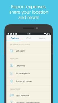 Sam - Trip Planner & Assistant apk screenshot