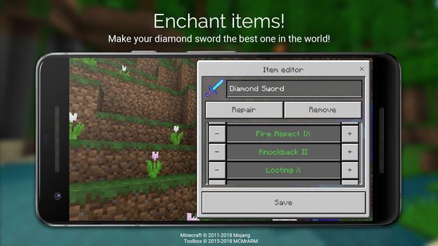 Toolbox for Minecraft: PE screenshot 4