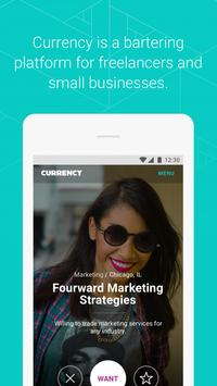 Currency - Bartering poster