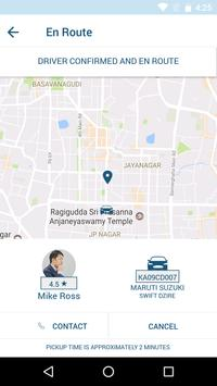 Strap Taxi App UI screenshot 3