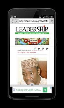 Nigeria news - Newsapp apk screenshot