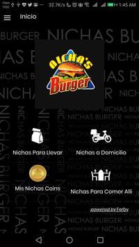 Nichas Burger poster