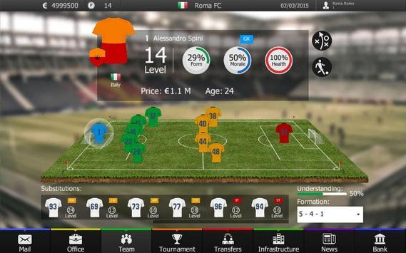 FF Manager 2015: Football Game apk screenshot