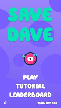 SAVE DAVE (Unreleased) poster