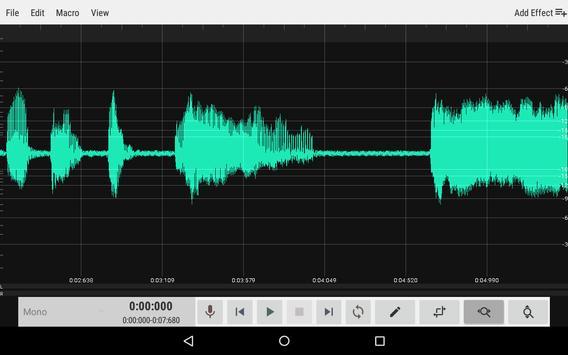 WavStudio™ Audio Recorder & Editor (Unreleased) screenshot 8