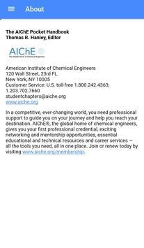 AIChE Student Handbook screenshot 6