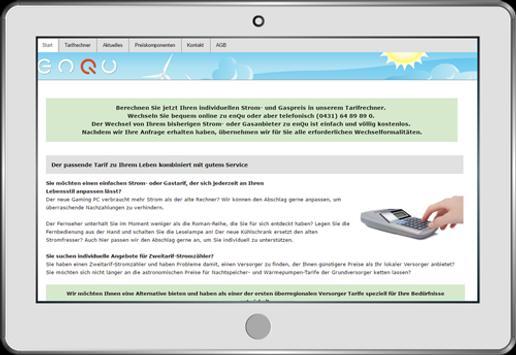 enQu Energie poster