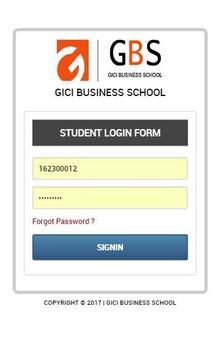 STMIK GICI Student Portal poster
