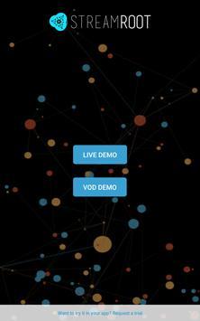 Streamroot SDK Demo apk screenshot