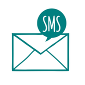 Golden SMS icon