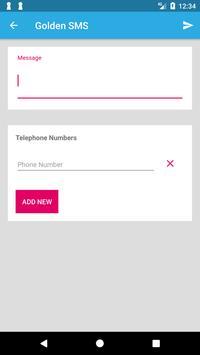 Golden SMS screenshot 5