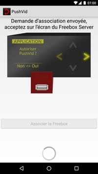 PushVid Freebox apk screenshot
