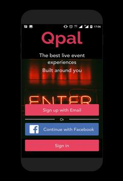 Qpal poster