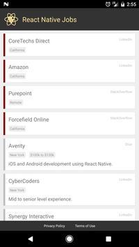 ReactNativeJobs.io apk screenshot