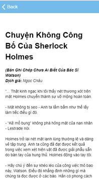 Chuyện Không Công Bố Của Sherlock Holmes screenshot 10