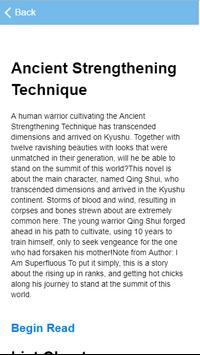 Ancient Strengthening Technique poster