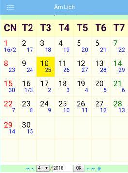 Lunar Calendar screenshot 1