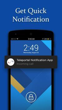 Teleportel Notification Route screenshot 3