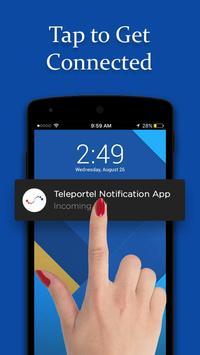 Teleportel Notification Route screenshot 1