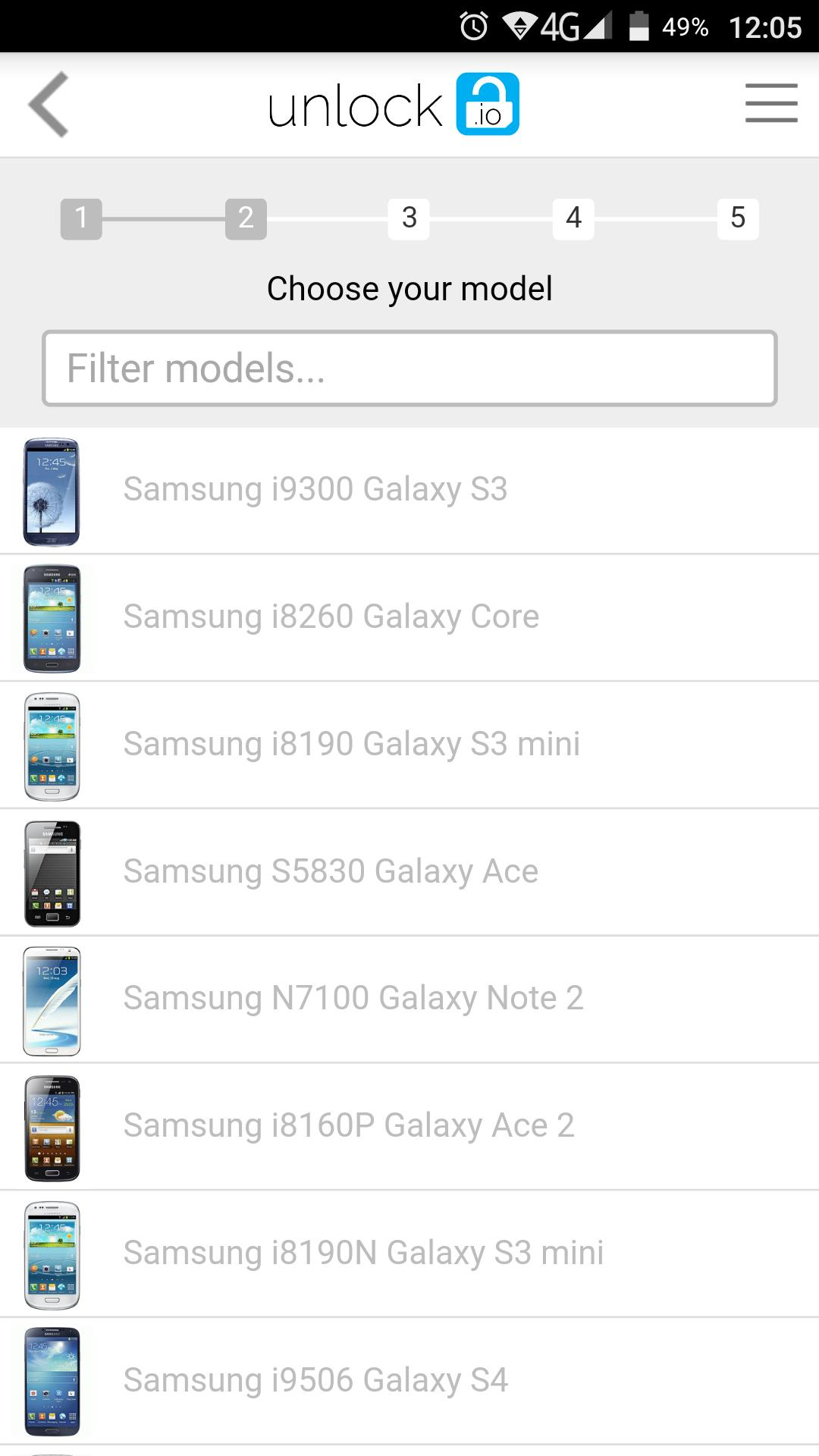 Unlock Samsung by cable for Android - APK Download